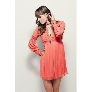 Free People In Dreamland Babydoll Dress XS US